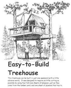 37 DIY Tree House Plans That Dreamers Can Actually Build