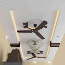 48_ Top Pop Design Ceiling Master Bedrooms With Fan Simple Tips_ 76