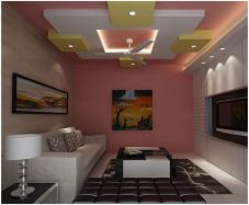 65 New False Ceilings with Cove Lighting Design for Living Room _livingroomideas _livingroomdecor