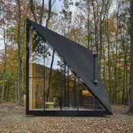 A45 _ Tiny Triangular Cabin in New York by BIG