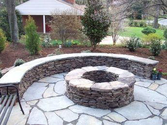 Amazing aluminum modern fire pit decor ideas with cool pictures. _firepitideas _outdoorfirepit _backyarddesign _DreamRoomDecor