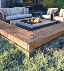 Astonishing gas modern fire pit kit decorating ideas you_ll see in 2018. _firepitdesign _FirePitsRock _BackyardIdeas _homedecor