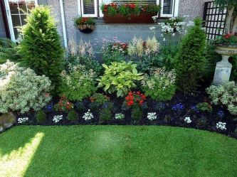 Best pictures_ images and photos about front yard landscaping ideas with perennials _homedecor _gar (22)