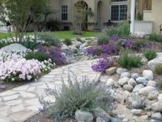 Best pictures_ images and photos about front yard landscaping ideas with perennials _homedecor _gar (36)