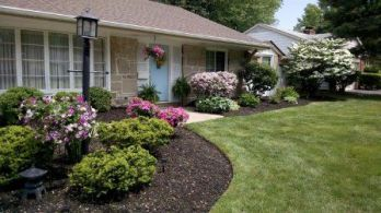 Best pictures_ images and photos about porch front yard landscaping ideas _homedecor _gardendecor