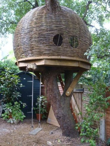 Build Charming Tree Houses By Yourself With These Diy Projects