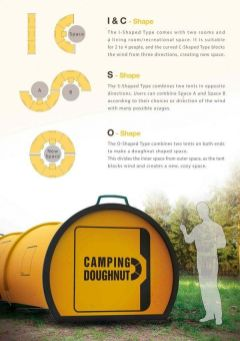 Camping Doughnut_ Collapsible Tubular Structures Designed to Replace Traditional…