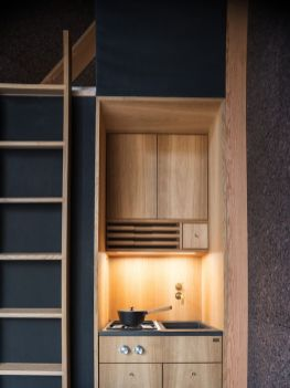 Clever storage in small space