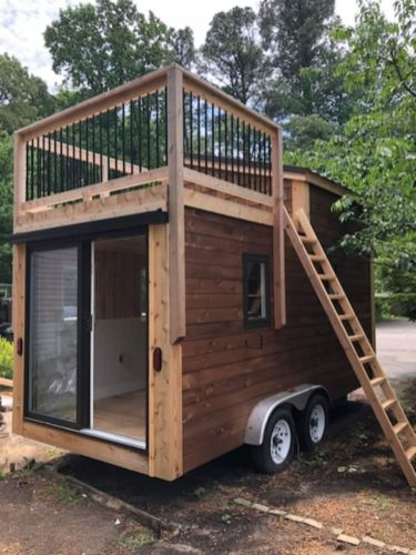 Custom Designed and Built. Ready for Final Finish Selections _ Tiny House Trailer for Sale in Lusby_ Maryland _ Tiny House Listings
