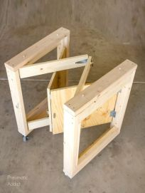 DIY Folding Mobile Workbench _ Popular Woodworking Magazine
