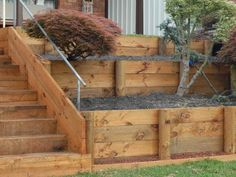 DIY Retaining Wall _ Simple Steps for Building Retaining Wall with japan style