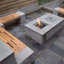 DIY concentrarte fire pit