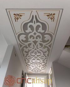 Dekoratif Beyaz Tavan Seperatör _ Decorative White Ceiling Seperator