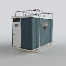 "Designnobis' ""Tentative"" Provides Compact_ Individual Living Spaces for Disaster Victims (1)"