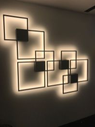 Do you like these wall lights creating this piece of art_ Send us through your ideas_ even on a cust.springlights.net or visit us in our store for a first hand experience.
