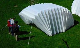 Emergency Disaster Relief_ reCover Shelter_ Sustainable Shelter_ Accordion reCover Shelter_ Matthew