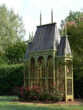 Garden Aviary _ I would adore to have this_