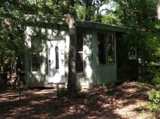 Have you ever thought about building a steel_framed tiny house_ That_s what Kim and Jay Merrett are . I_m happy to show you their 240 sq. ft. 12_ x 20_ steel framed tiny house in the wo