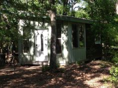 Have you ever thought about building a steel_framed tiny house_ That_s whatKim and Jay Merrettare . I_m happy to show youtheir240 sq. ft. 12_ x 20_ steel framed tiny house in the wo
