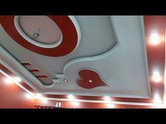 Latest 50 New Gypsum False Ceiling Designs 2017 Ceiling Decorations Living and Bedroom _ YouTube _ _