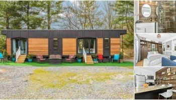 Luxurious and Spacious 420 Square Foot Tiny House by Humble Homes in Maryland