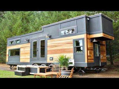Luxury Country Style Tiny House with Warm & Cozy Interior _ Small Home Design Ideas _ YouTube