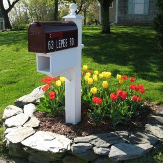 Mini Mailbox Flower Bed _ Front Yard Landscaping Ideas 2019 _frontyardlandscaping _landscapingideas