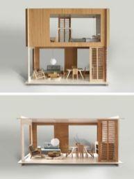 Modern Doll Houses_ Miniio