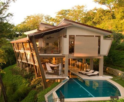 New inspiration_ Luxury Courtyard Home Plans in Costa Rica by New Inspiration Home Design_ via Flick