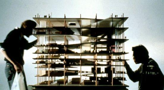 OMA _ Jussieu Libraries Wood Model(1992) _ haydar al_ameri _ Medium