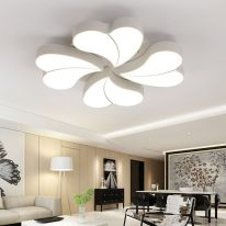 Online Shop DIY Flower LED Ceiling Light Modern Living Room Ceiling Lamps Bedroom Indoor Lighting Ho