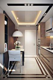 Petite cuisine d'appartement et petit coin repas pour deux personnes _appartement _cuisine _personn