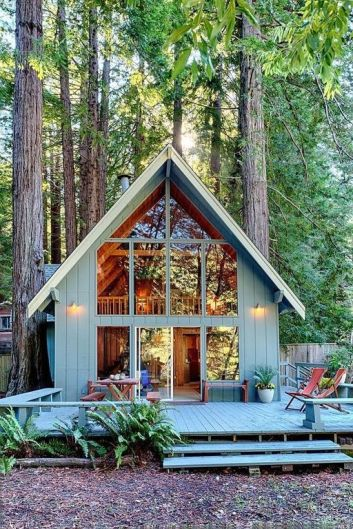 Recently sold_ . Stylistic creek front getaway with mid_century touches. Experience you own slice of magical Austi
