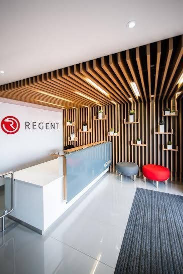 Regent Insurance in Edenvale designed by Inhouse Brand Architects… _officedesignswood
