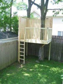 Simple DIY TREE HOUSE