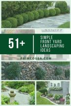 Simple Front Yard Ideas For 2018. Read more ideas around Yard Projects_ Front Yard Landscaping & Patio. Related suggestion_ Modern Front Yard _ Front Yard With Fountain Pin this now. _FrontY