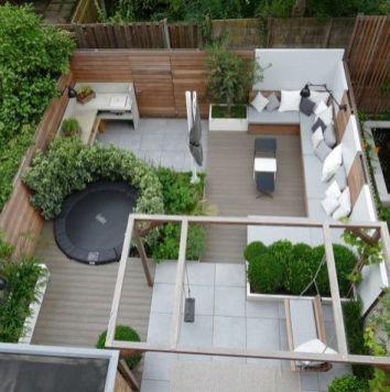 Small back garden _gardening