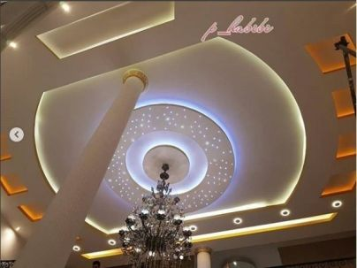 Stylish Modern Ceiling Design Ideas _ Engineering Basic (13)