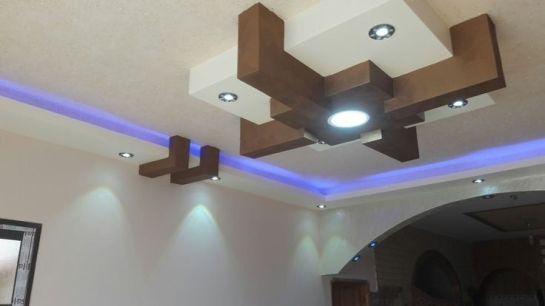 Stylish Modern Ceiling Design Ideas _ Engineering Basic (27)