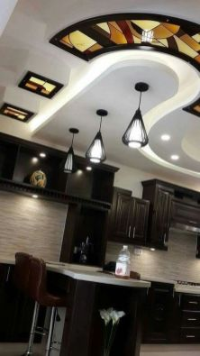 Stylish Modern Ceiling Design Ideas _ Engineering Basic (52)