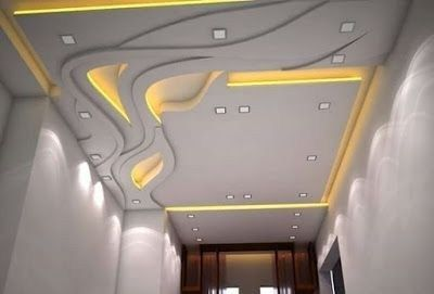 Stylish Modern Ceiling Design Ideas _ Engineering Basic (78)