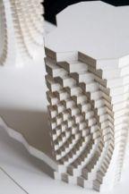 Textura creada a partir de la sobre posición de planos