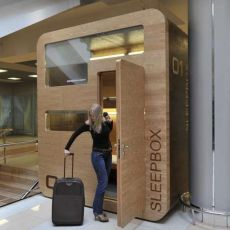 The SleepBox Debuts in International Airports Around the Globe _travel trendhunter.com
