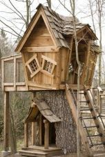 Tree Stump House _ Tree Stump Decorating Ideas _ How To Decorate a Tree Stump In Landscape