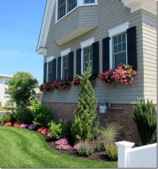 Unique front yard landscape inspirations that are sure to inspire you. _frontyardlandscaping _FrontYardDecoration _frontyardflowers _landscaping