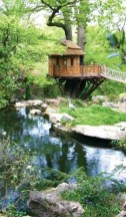 Unusual Homes_ Britain's Blue Forest builds gorgeous treehouses for play_ shelter and gardens_ using.