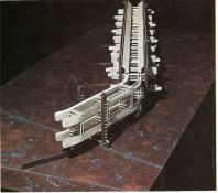 """fabriciomora_ """" Berlin Wall Housing Mega_structure proposal from the 80s """"if in some theoretical fu. By Morphosis """""""