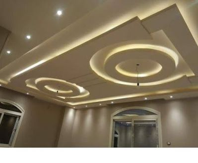 latest pop false ceiling designs pop wall designs for hall 2019 (1)