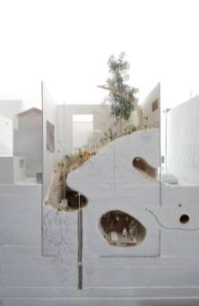 on something_ linowska_ archimodels_ © ikimono architects ...