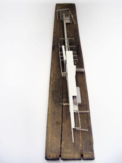 work in progress by Alexander Daxböck_ architectural model_ maquette_ modelo